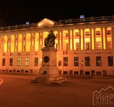 Biblioteka Raczyńskich nocą